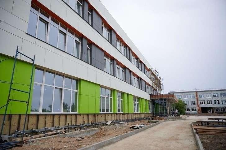 Четыре новые школы построены в Иркутской области