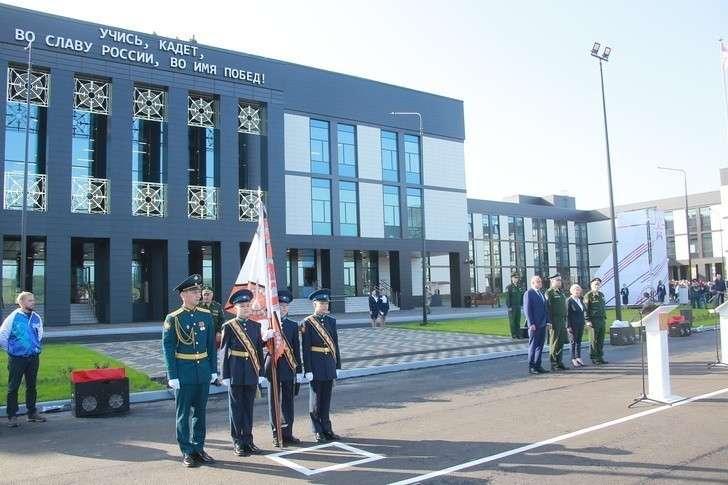 В Кузбассе открыто Кемеровское президентское кадетское училище