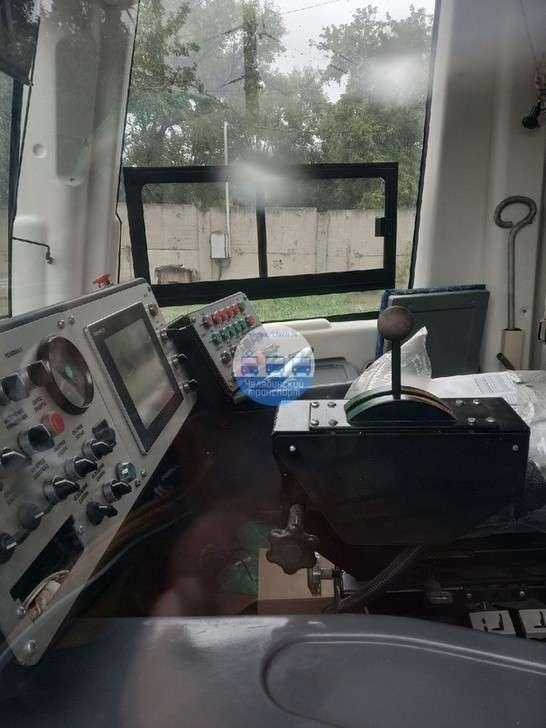 В Челябинск доставлен новый трамвай Усть-Катавского вагоностроительного завода