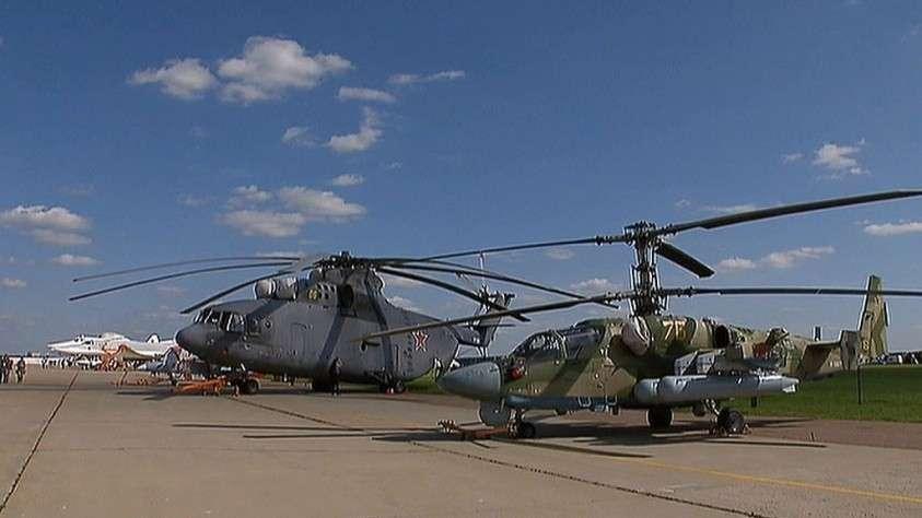 Российская армия получила 112 вертолётов по новой государственной программе вооружений