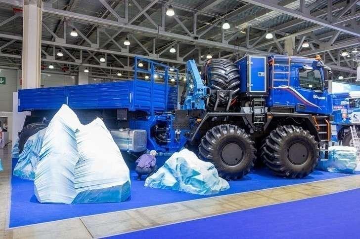 Новый КАМАЗ-Арктика с кабиной К5 на Комтранс-2019