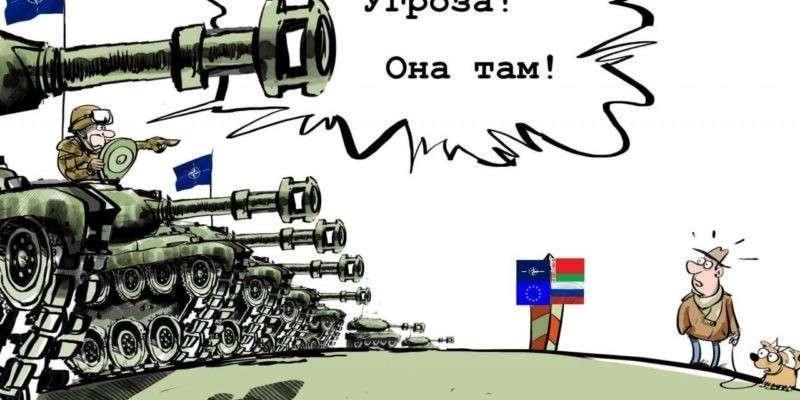 США и НАТО осваивают будущий театр военных действий в Прибалтике и Польше