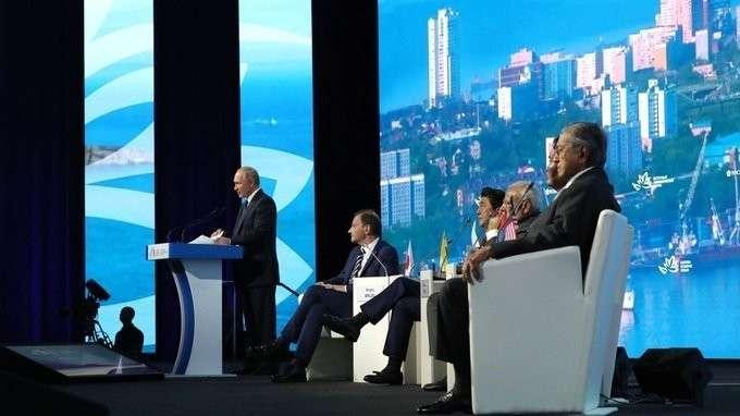 Владимир Путин выступил на пленарном заседании Восточного экономического форума форума