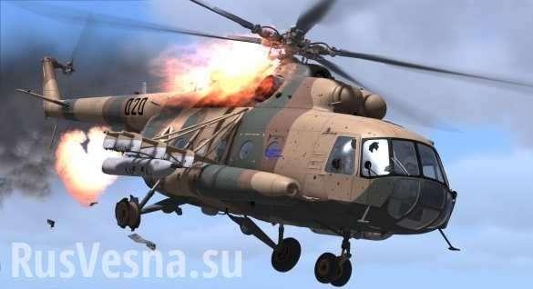 Кадры первых секунд после жёсткой посадки Ми-8 под Саратовом (ВИДЕО) | Русская весна