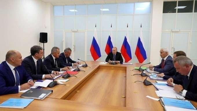 Начало совещания по вопросам развития инфраструктуры космодрома Восточный и перспективных ракетных комплексов