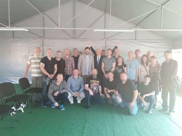Вышинский вместе с освобожденными на Украине россиянами вылетел в Москву