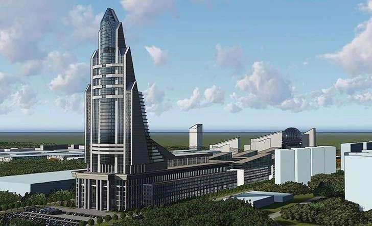 В Москве началось строительство Национального космического центра