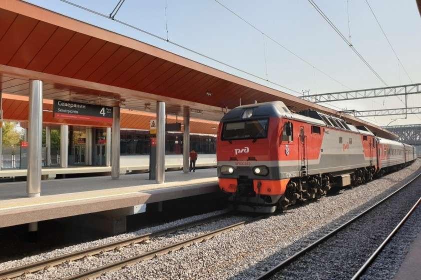 На северо-востоке Москвы открылась платформа МЖД «Северянин»