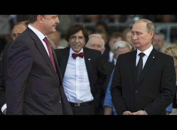 Путин-Порошенко