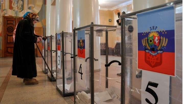 Киев намерен провести свои выборы в Донбассе