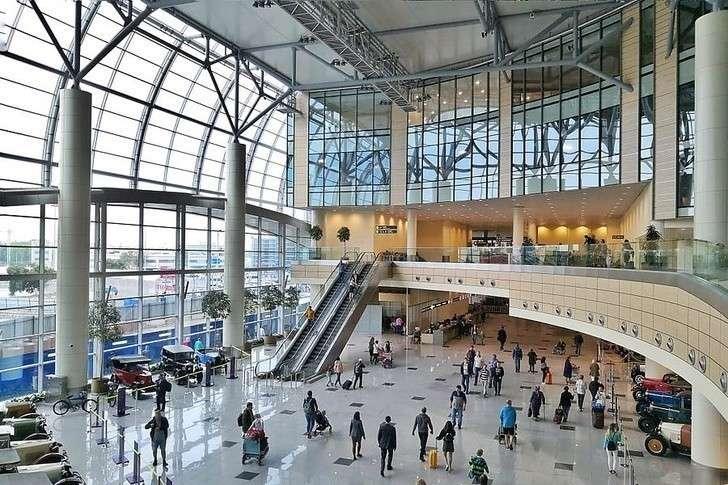 Аэропорт «Домодедово» открыл новый атриум в зоне внутренних воздушных линий