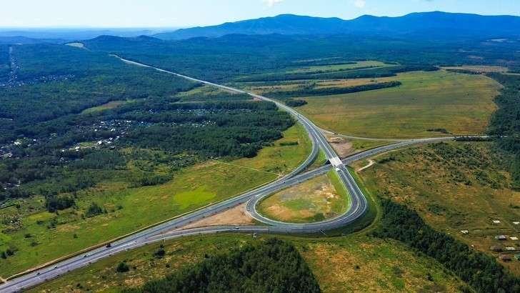 В Хабаровском крае завершена реконструкция четырехполосного участка федеральной трассы «Уссури»