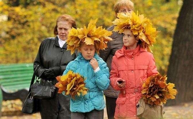 Погода в России: Вместо обещанного в сентябре лета, выпадет снег