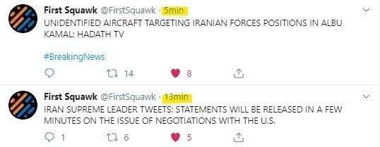 ВВС Израиля атаковали иранские объекты на сирийско-иракской границе
