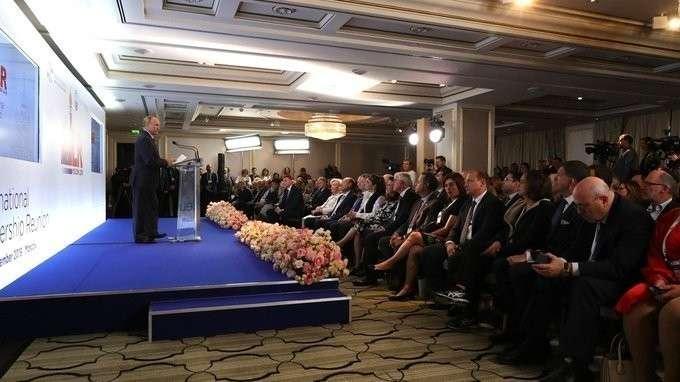 Выступление на конгрессе фонда «Керен ха-Йесод»