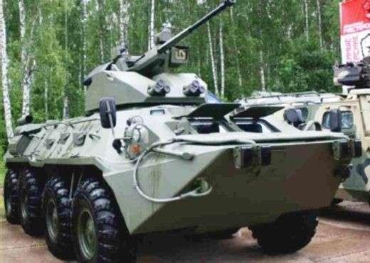 Публично продемонстрирована новейшая модификация колёсного бронетранспортёра БТР-88