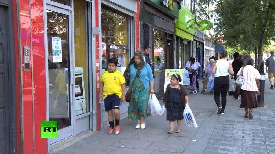 Каждый четвёртый ребёнок в Великобритании живёт за чертой бедности