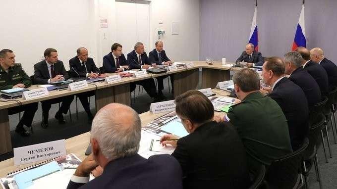 Вступительное слово на заседании Военно-промышленной комиссии