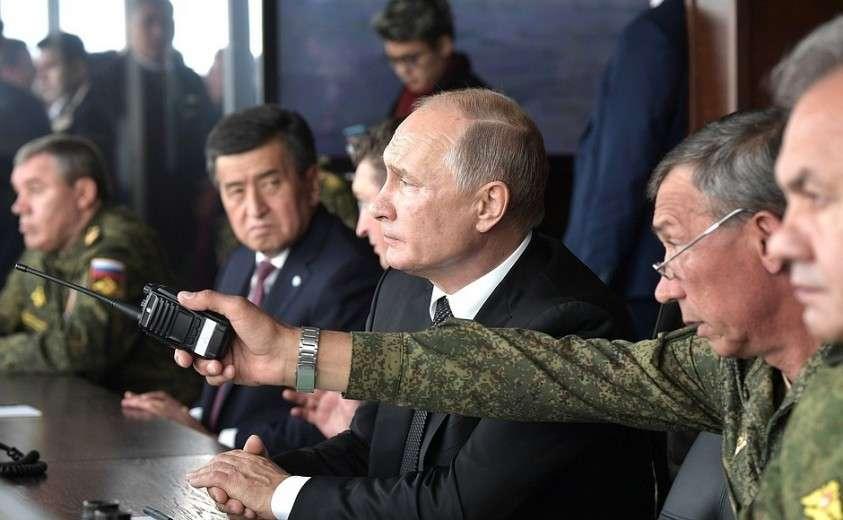 В ходе наблюдения за основным этапом стратегических командно-штабных учений «Центр-2019».
