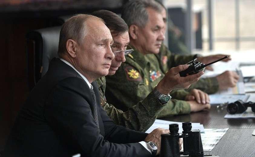 Наблюдение за основным этапом стратегических командно-штабных учений «Центр-2019».