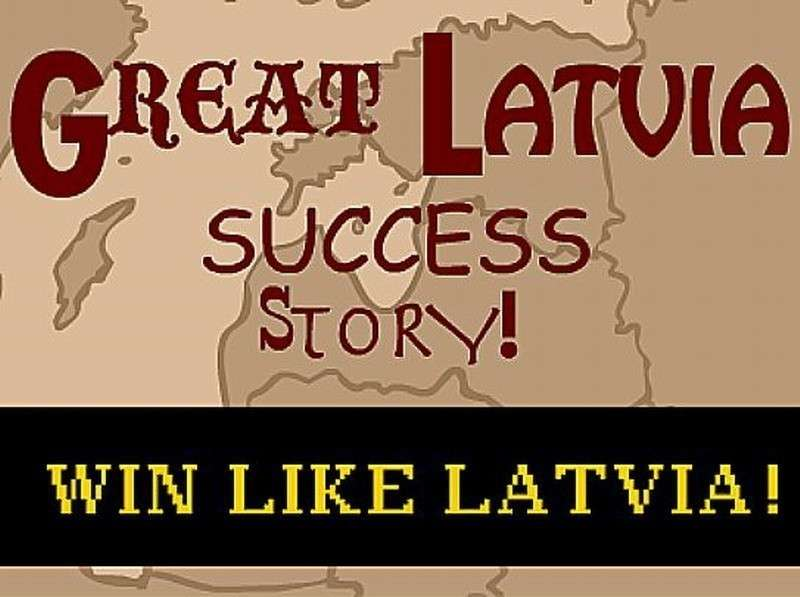 Латвия: наше болото – лучшее в мире. Оно глубже и шире всех болот