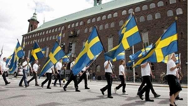 Празднование Национального дня Швеции. 6 июня 2005