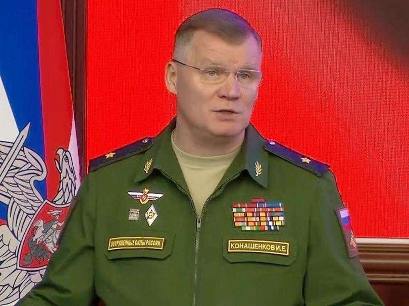 О дронах боевиков, сбитых на подлете к Хмеймиму, рассказал Игорь Конашенков