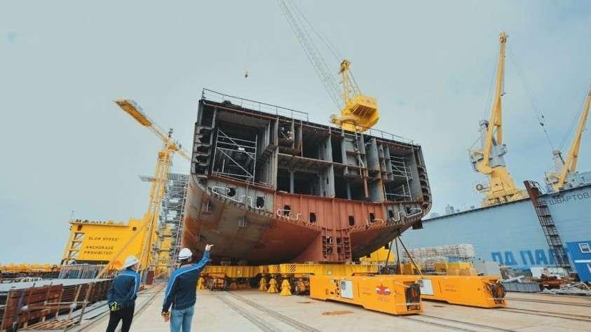 Как на судостроительном комплексе «Звезда» строят суда