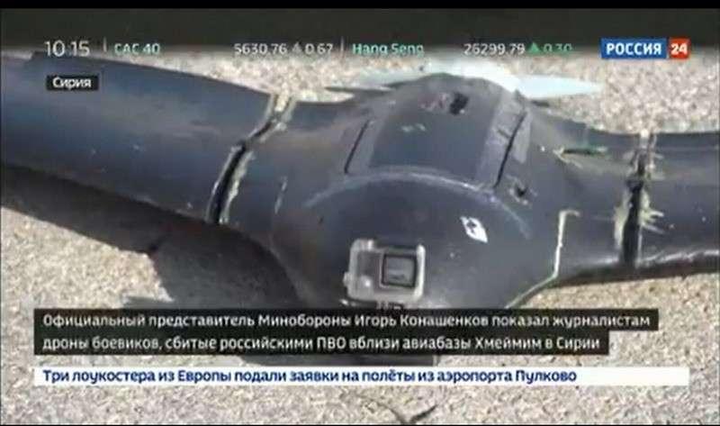 Сбитые возле авиабазы Хмеймим в Сирии беспилотники террористов вовсе не являются самоделками