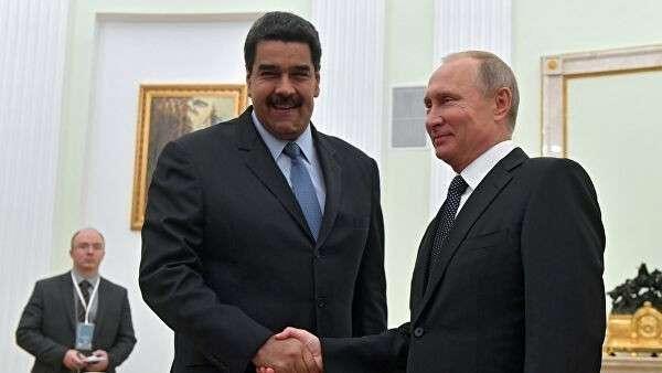 Встреча президента России Владимира Путина с президентом Венесуэлы Николасом Мадуро