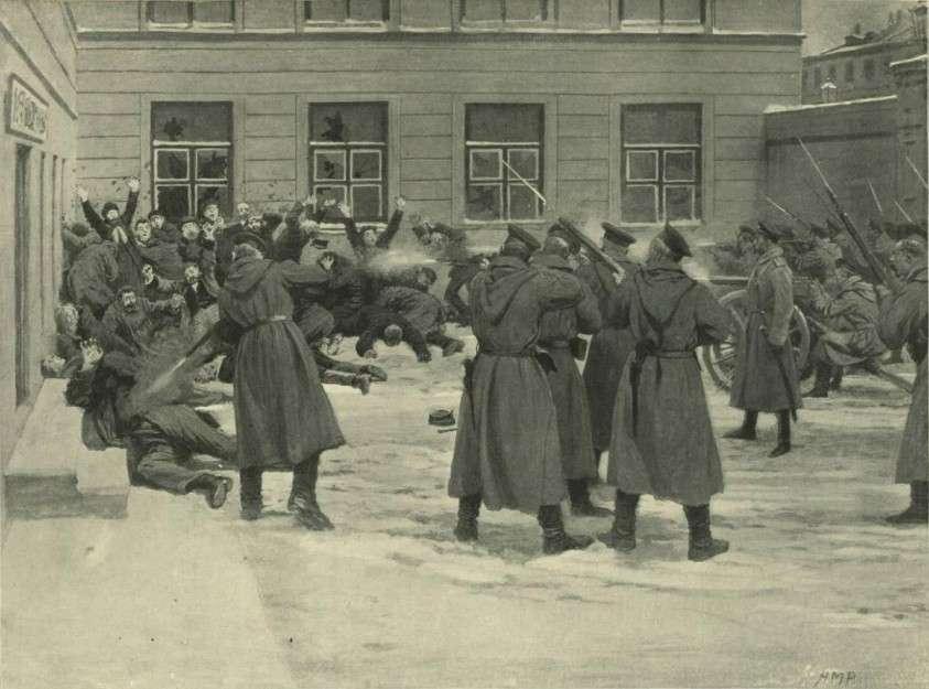 Как каратели царя Николая II убивали людей без суда и следствия