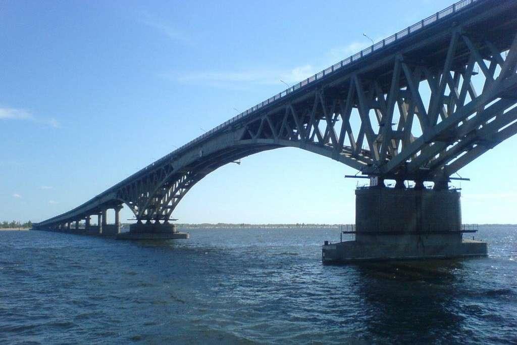 Мост через керченский пролив может