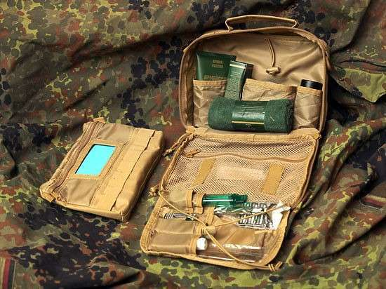 Джентльменский «набор Шойгу»: для военных ввели несессеры