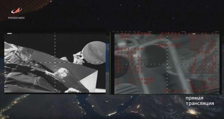 Космический корабль «Союз МС-15» с тремя членами экипажа на борту совершил стыковку с МКС