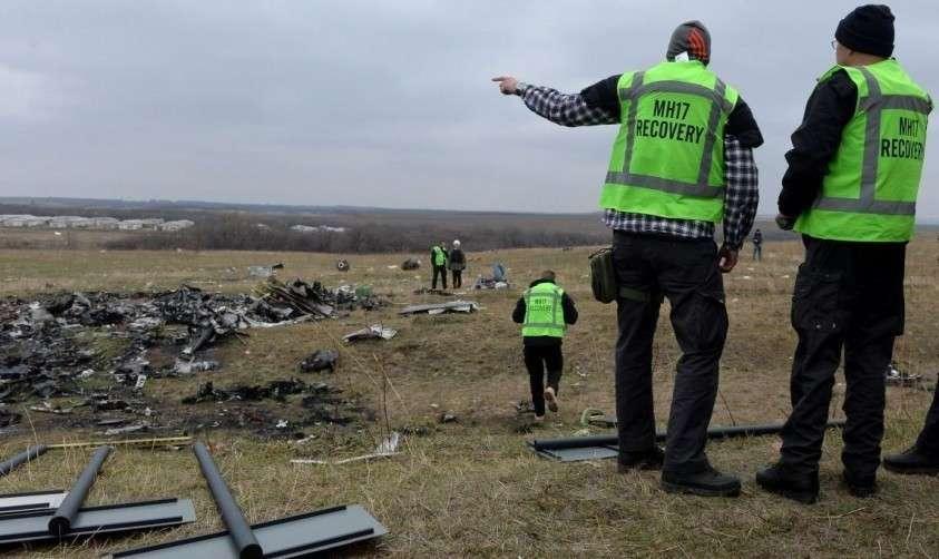 Катастрофа МН17 над Донбассом
