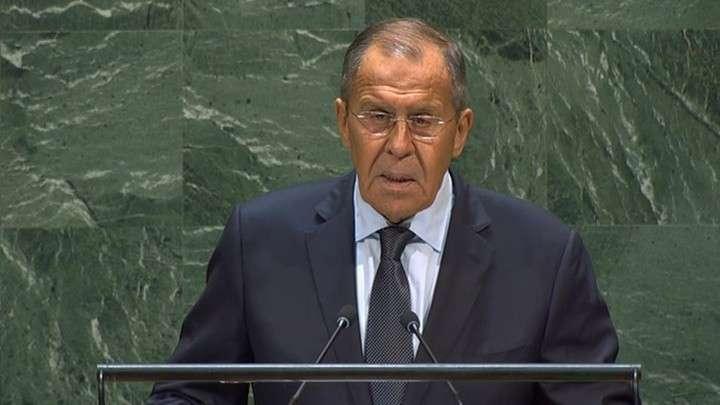 Сергей Лавров на Генассамблее ООН. Выступление министра иностранных дел России