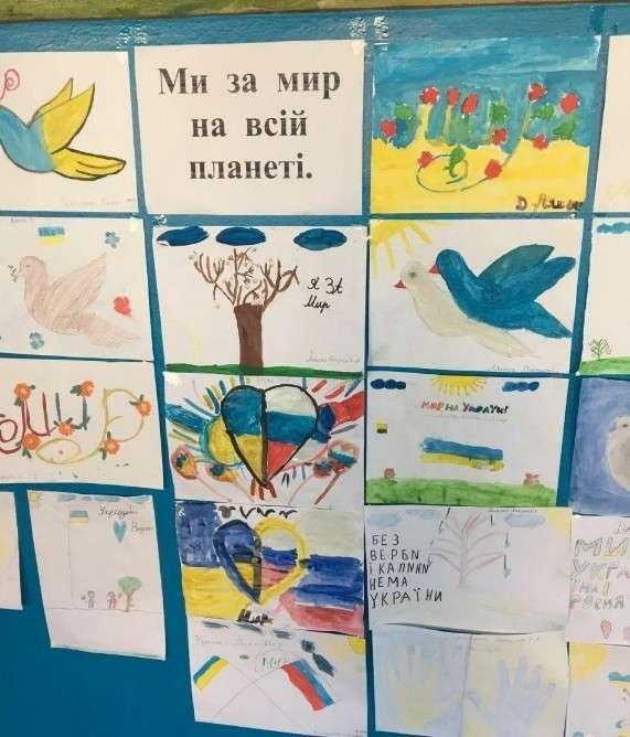 Выставка детских рисунков на Украине привела в ужас «свидомых» русофобов