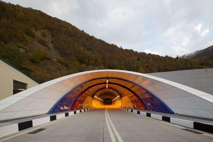 Завершились все работы по реконструкции Рокского тоннеля