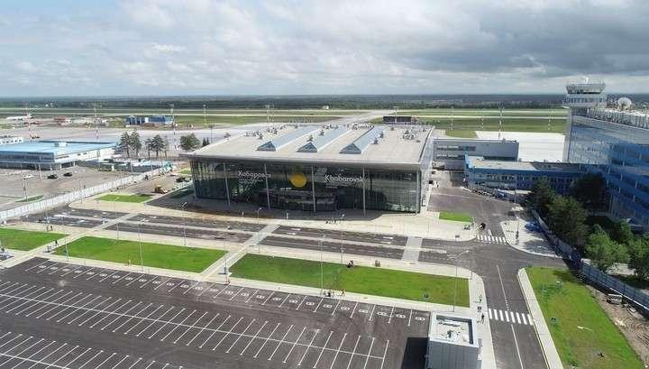 Новый терминал Хабаровского аэропорта готов к эксплуатации