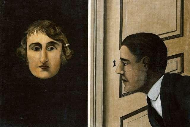 Рене Магритт. Шпион. 1928