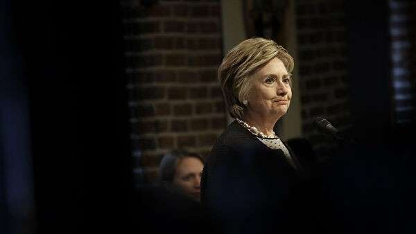 Американский политик, член Демократической партии Хиллари Клинтон. 5 июня 2017
