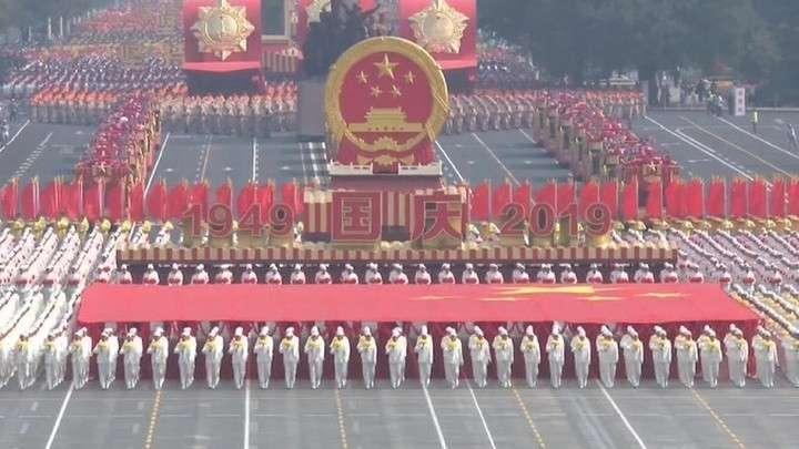 70-летие образования КНР отмечено грандиозным военным парадом
