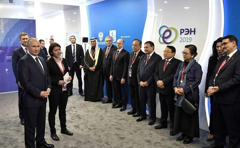 Встреча с главами профильных ведомств и международных организаций в сфере энергетики.