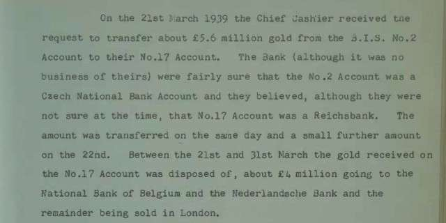 Как Англия помогала фашистам сбывать украденное у России золото
