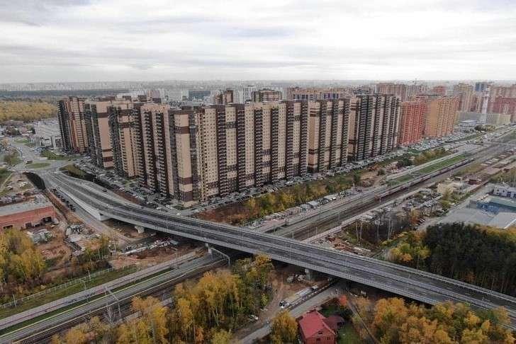 Дан старт рабочему движению по новому путепроводу в Подмосковье