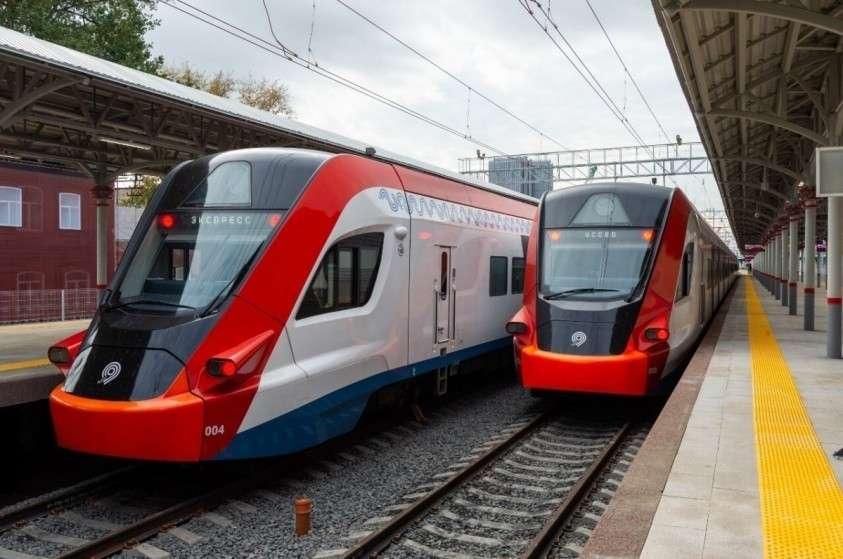 Новые железнодорожные пути и пассажирский павильон открыли на Белорусском вокзале