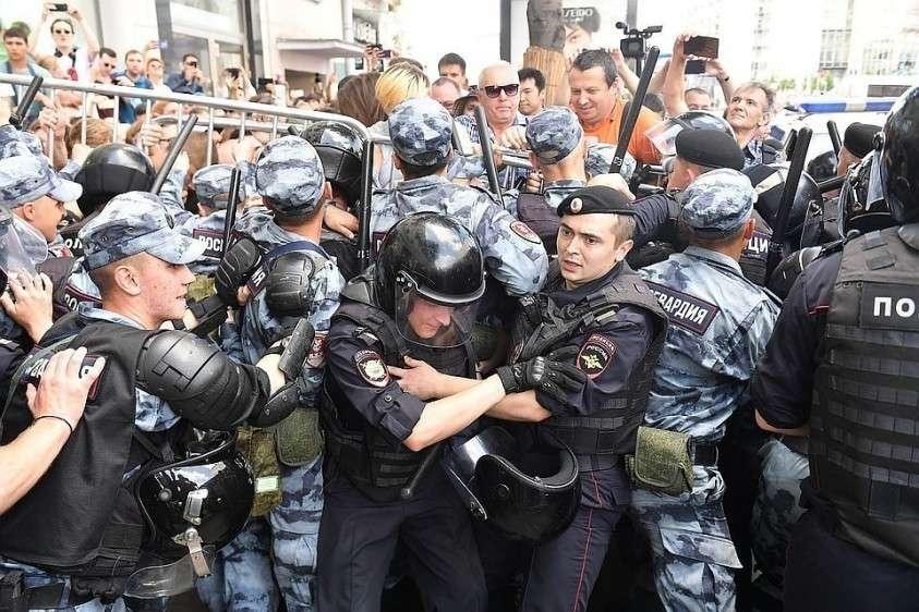 «Москва, выходи» – однозначно призыв к участию в неразрешенной акции