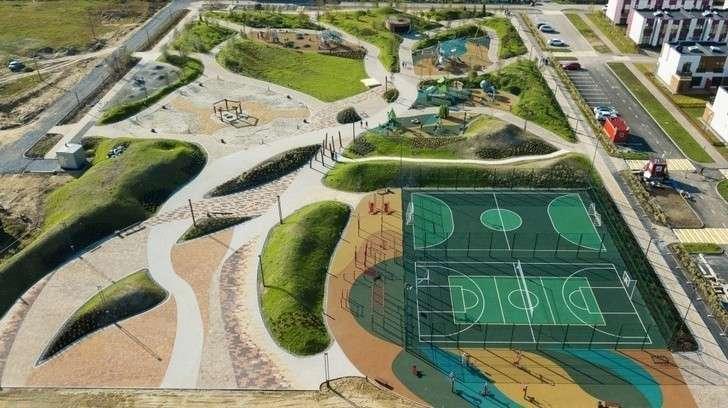 В пригороде Тюмени открылся новый ландшафтный парк «Древо жизни»