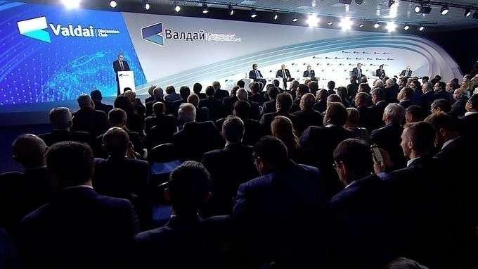 Вступительное слово на заседании Международного дискуссионного клуба «Валдай»