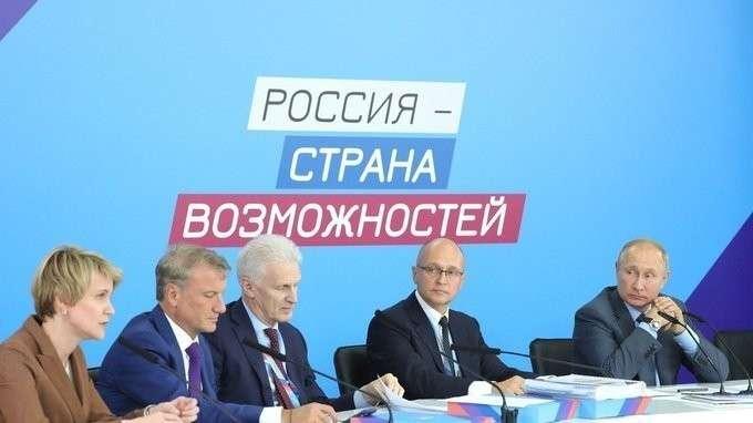 Заседание наблюдательного совета АНО «Россия – страна возможностей»